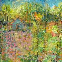 Jo Dixon Mixed media images – paint, print, collage