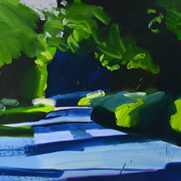 Nick Bodimeade Painting still life – towards abstraction