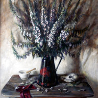 George Popesco Still life painting in oils for beginners
