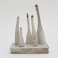 Sue Mundy Hand building ceramics with texture