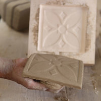 Richard Miller tile making