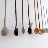 Elaine Bolt Making ceramic spoons