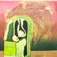 Mary Dalton Hybrid printmaking – lino, monoprint and drypoint