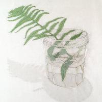 Emily Jo Gibbs Textile still lifes with a nature theme