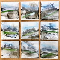 Steve Humble Contemporary painting – abstracting the landscape