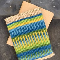 Mary Crabb Textile basketry – patterned pods and pockets