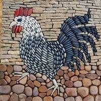 Sue Rew Pebble mosaics – a creative garden feature