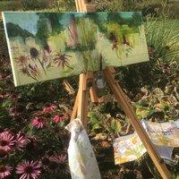 Katie Sollohub Sketchbook into paintings