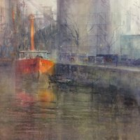 Brian Smith Comprehensive watercolour painting
