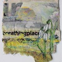 Cas Holmes Live online course – Wild gardens: layer and stitch, art textiles