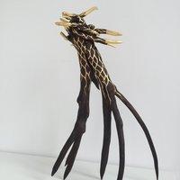 Elpida Hadzi-Vasileva Sculpting and gilding a natural object