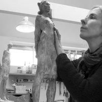 Arabella Brooke Figure sculpture in clay