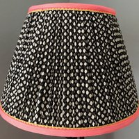 Eloise Scotland Gathered fabric lampshades