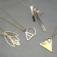 Laila Smith Make a multi layered silver pendant