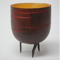 Mark Hancock Woodturning – a decorated bowl or vessel