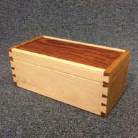 Tom Kealy Furniture making for beginners – a dovetailed box