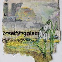Cas Holmes Live online course – Wild gardens: layer and stitch, art textiles