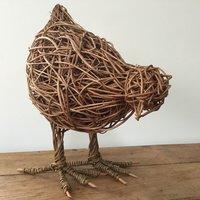 Dominic Parrette Weave a willow hen