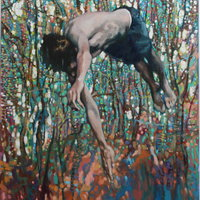 Haydn Cottam Building narrative in painting