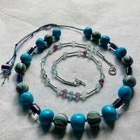Sara Withers Contemporary and traditional bead threading