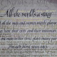 Mary Noble Calligraphy – italic hand