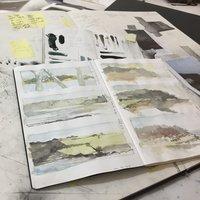 Kate Boucher sketchbooks for beginners