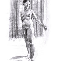 Hester Berry Life drawing