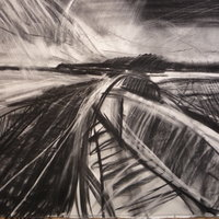 Christopher Baker Drawing with charcoal – various approaches