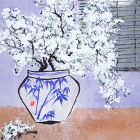 Julia Martin Introduction to Chinese brush painting – plum blossom