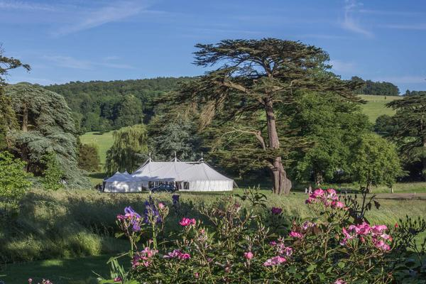 West Dean Gardens Makes A Stunning Venue For The Perfect Wedding Reception