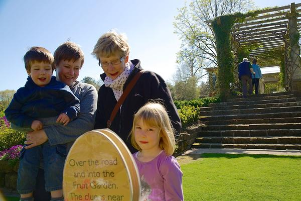 Easter Trails in the gardens