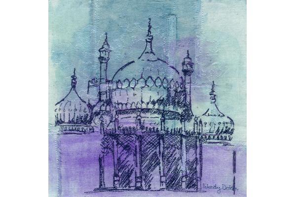 Wendy Dolan Royal pavilion Brighton design on textiles