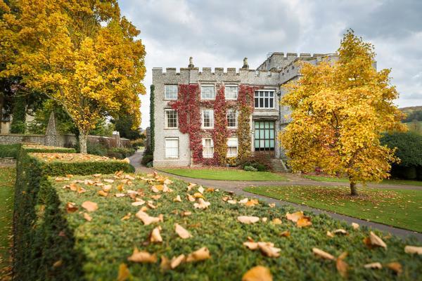 West Dean College and Gardens in Autumn