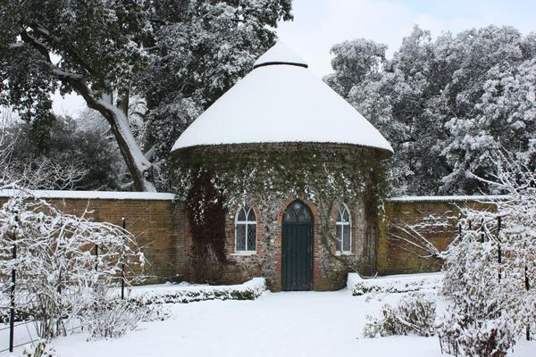 The historic Apple Store at West Dean Gardens