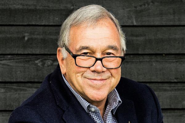Simon Brett, OBE, FRSL (cr Nigel Cull)