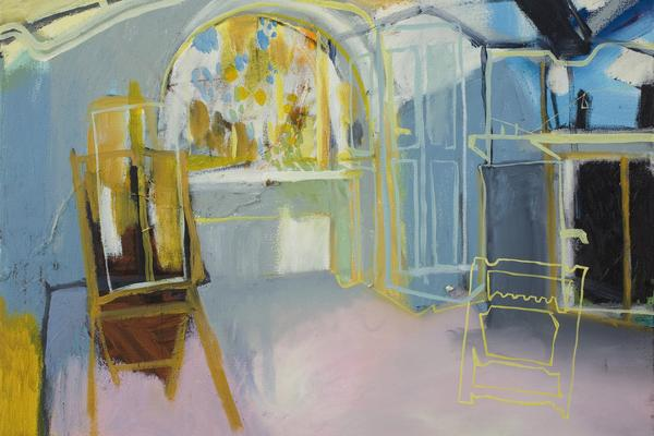 Drawing and Painting interiors - colour and light