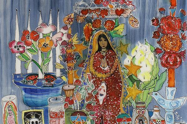 Hilary Simon: my mexican shrine