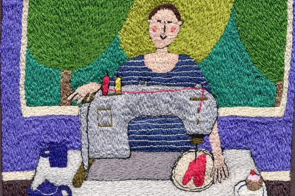 Linda Miller: at work