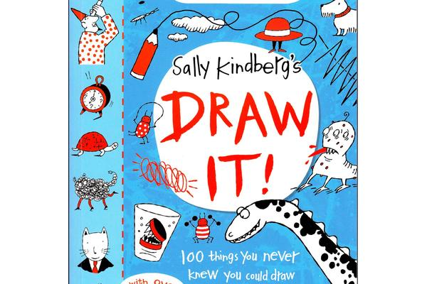 Sally Kindberg: Draw It book