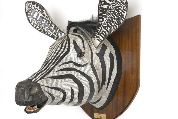 Zebra by David Farrer