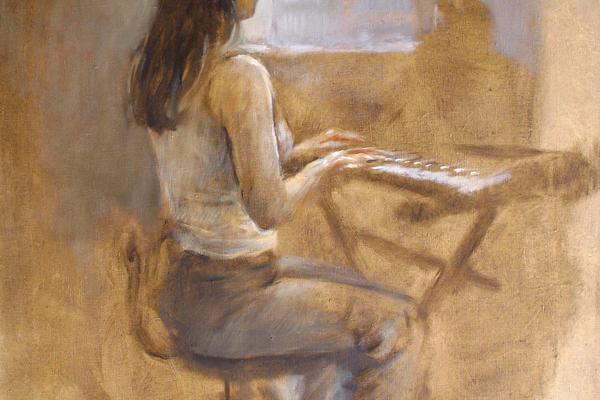 David Cranswick painting
