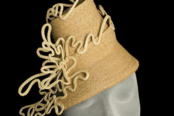 Jane Corbett : Filigree Coil Hat