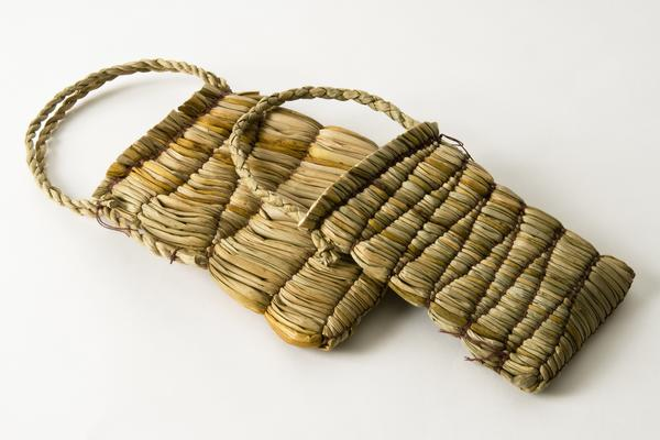 West Dean College short courses Mary Butcher ruched rush bags