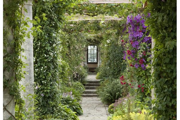 The Edwardian Pergola by Harold Peto at West Dean Gardens