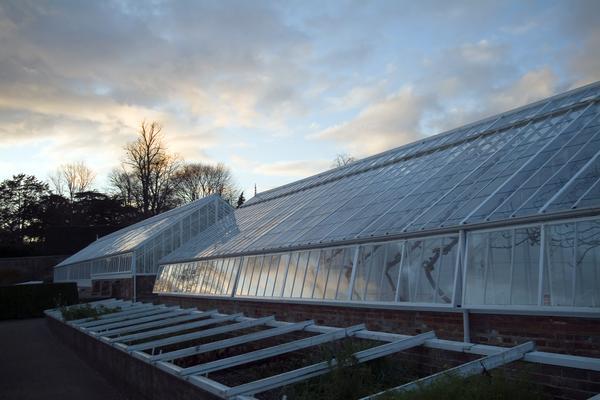 Glasshouse at West Dean Gardens West Sussex