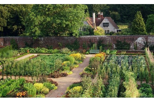 Walled Kitchen Garden at West Dean West Sussex