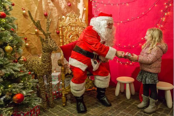 West Dean Gardens Visit Father Christmas