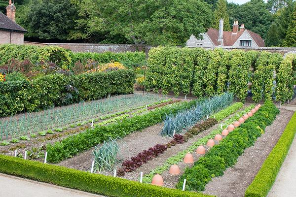 Walled Kitchen Garden at West Dean in Sussex
