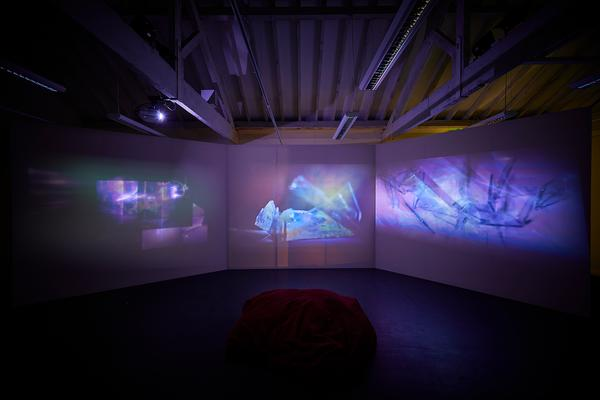 Askild Winkelmann, MFA exhibition 2018. Photo by Barney Hindle