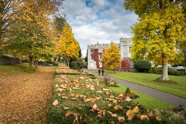 West Dean College of Arts and Conservation in Autumn